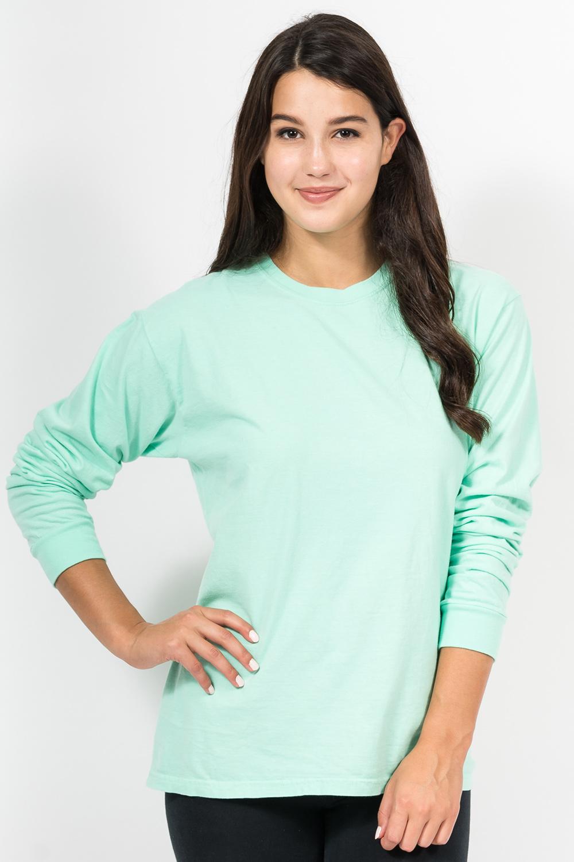 Custom Comfort Colors C6014 long-sleeve t-shirt front