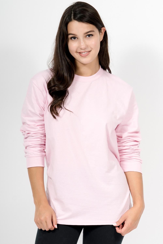 Custom Gildan G840 long-sleeve t-shirt front