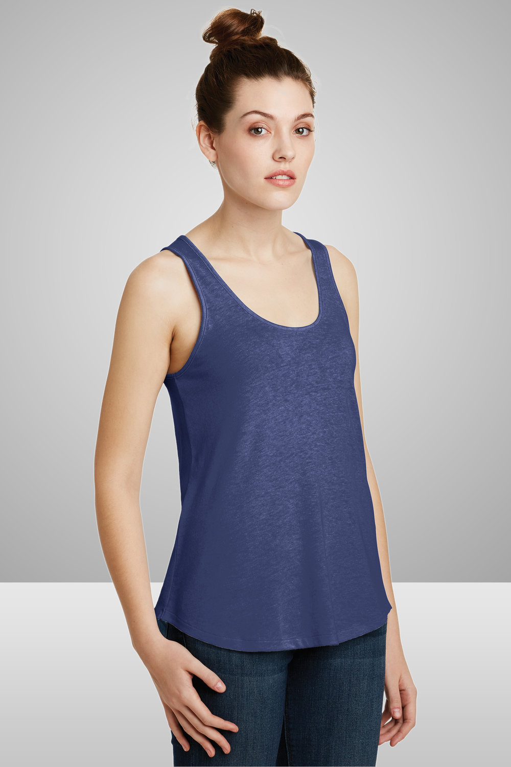 Alternative Ladies' Backstage Vintage Jersey Tank    $13.31 each for 25 items one color front or back