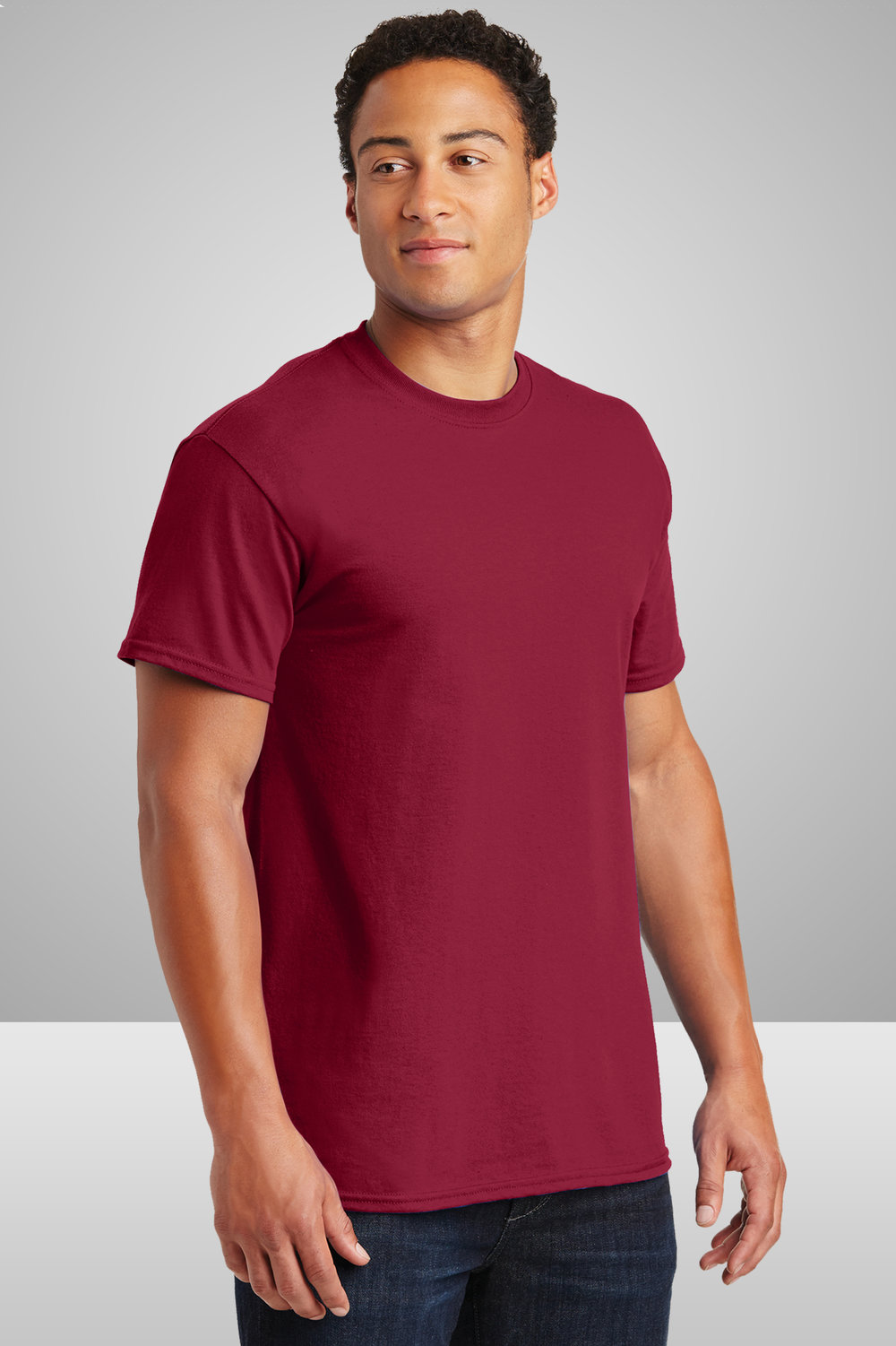 Gildan Ultra Cotton T-Shirt    $8.14 each for 25 items  one color front or back