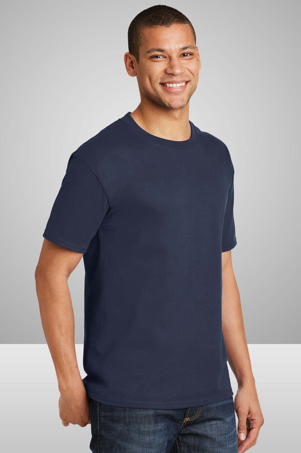 Hanes Beefy-T Shirt    $9.98 each for 25 items one color front or back