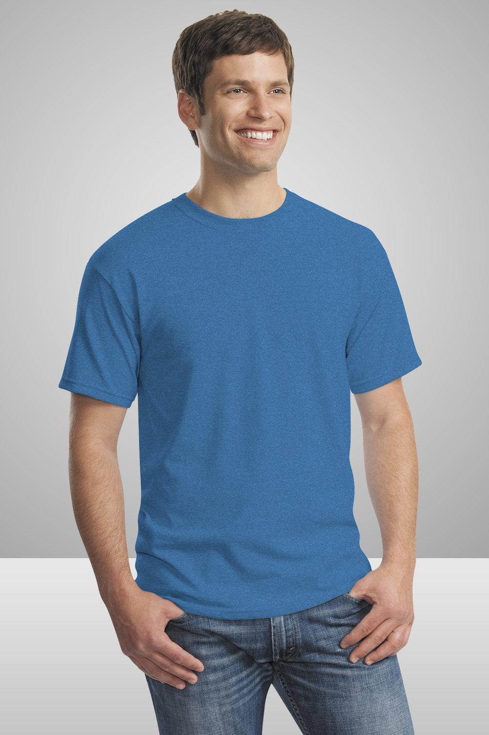 Gildan Standard T-Shirt    $7.42 each for 25 items  one color front or back