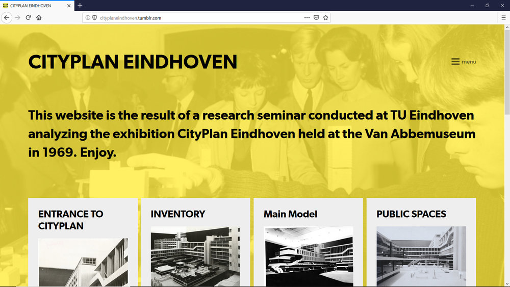 Revisiting CityPlan Eindhoven - DIGITAL ESSAY