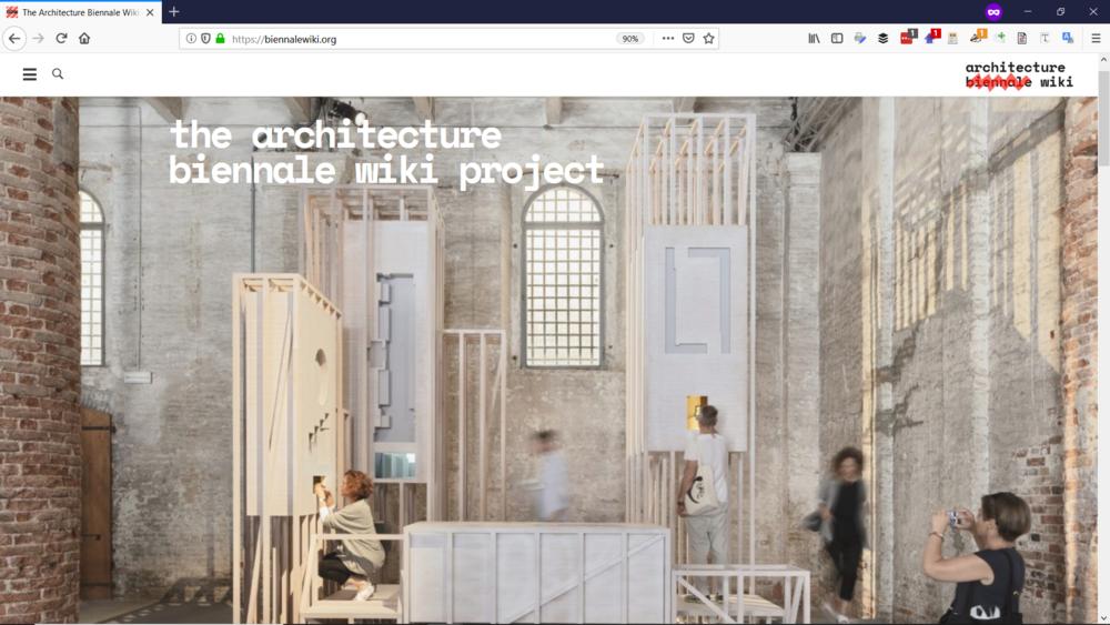 The Architecture Biennale Wiki - Digital Database