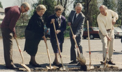 Miriam's House Groundbreaking