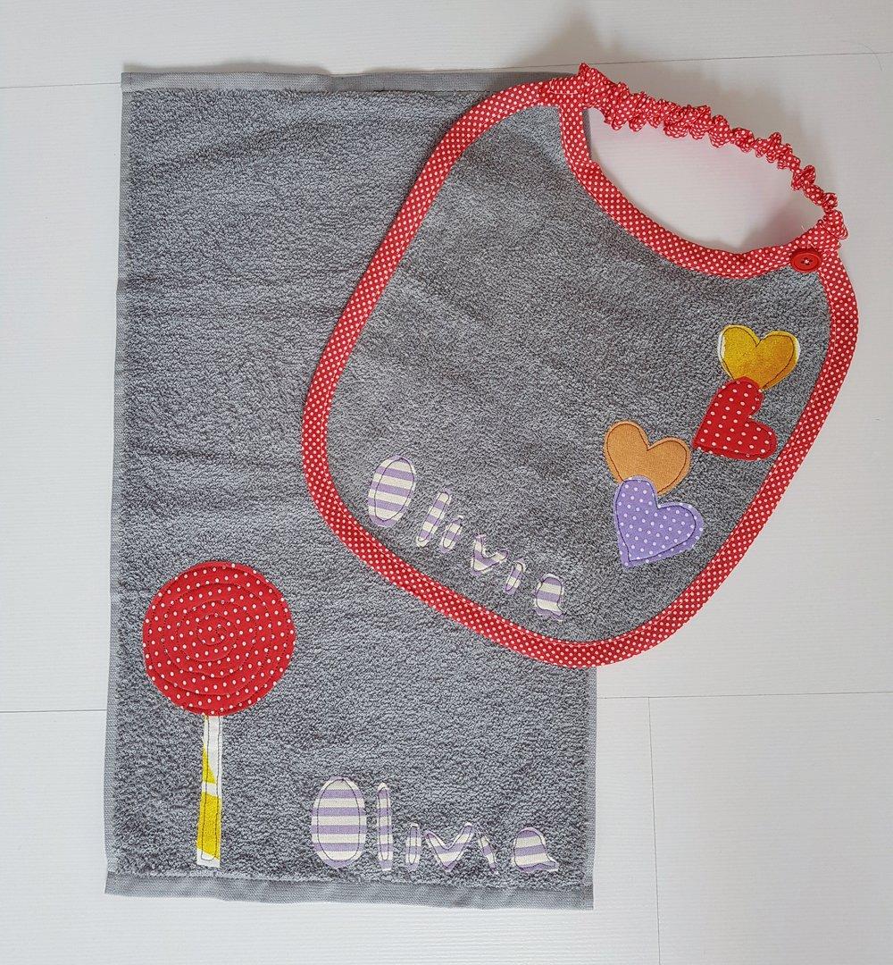 Lecca lecca e palloncini a forma di cuore per il primo set