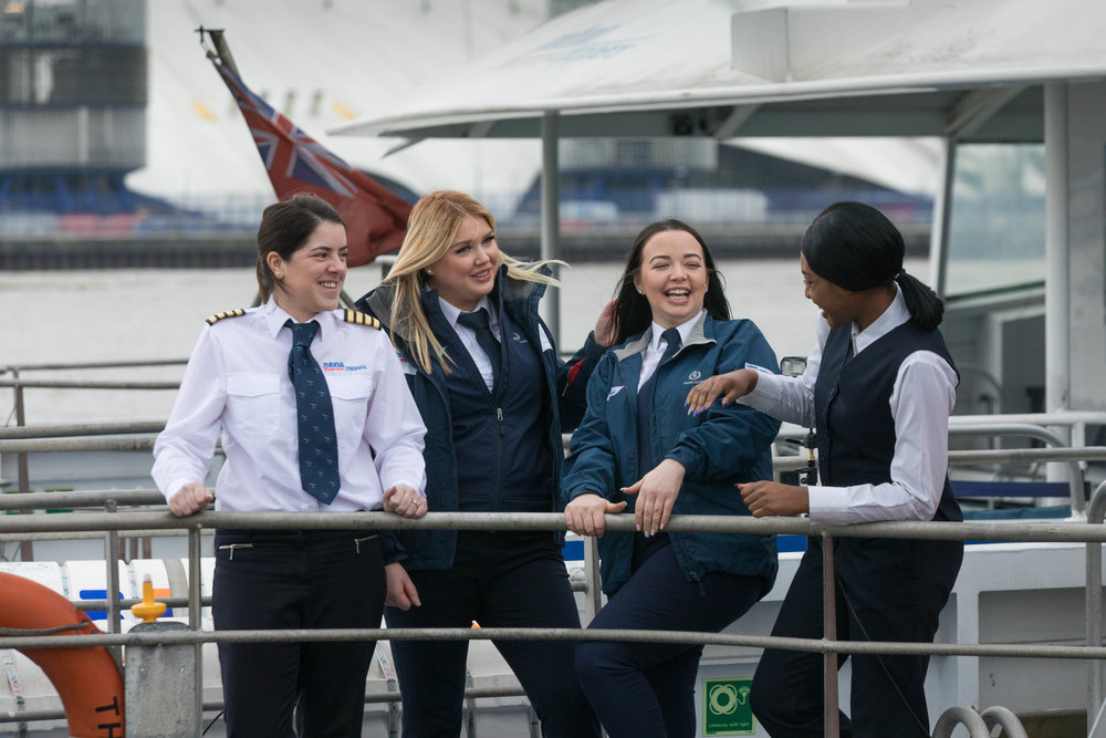 MBNA Thames Clippers all-female crew for International Women's Day 2018.jpg