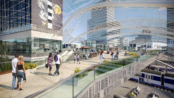Leeds Station Integrated Station Masterplan. Copyright SNC-Lanvalin's Atkins.