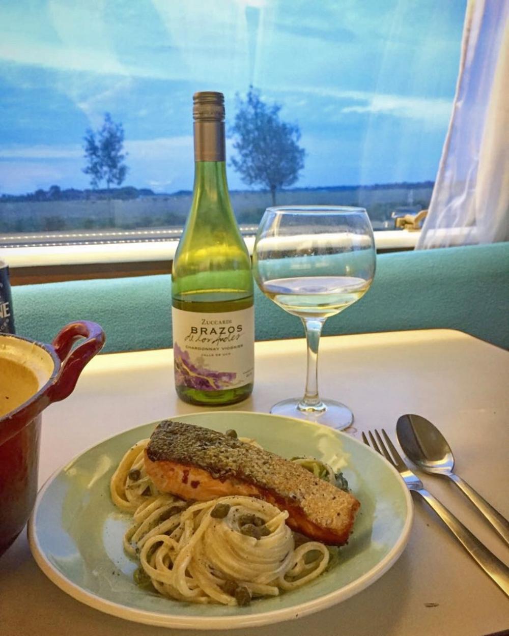 Fish_Purslane and Salmon pasta_James.jpg