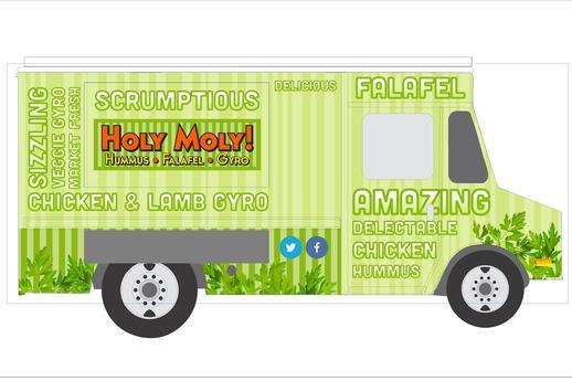 Holy Moly Hummus Logo