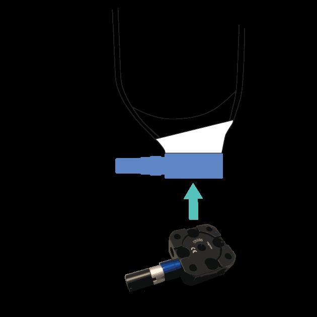 Amparo Pin-lock clutch lock
