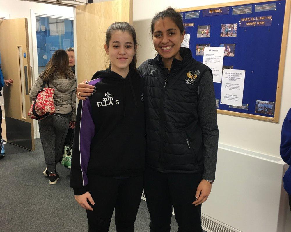 Ella Sethi and Sophia Candappa