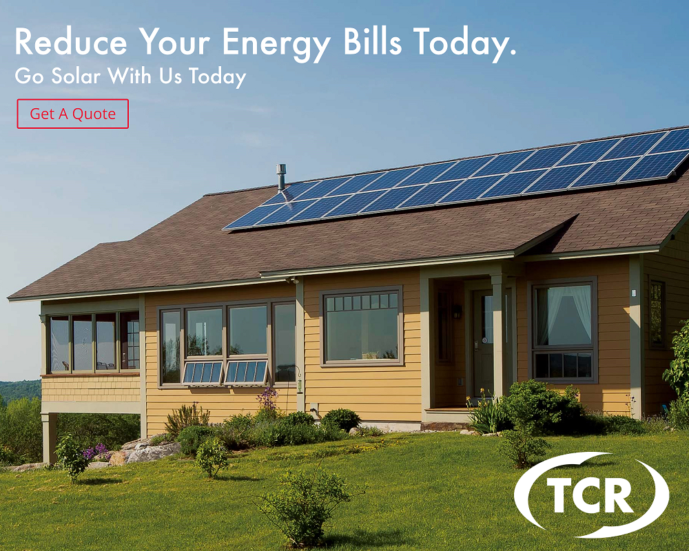 TCR Reduce your energy bills today