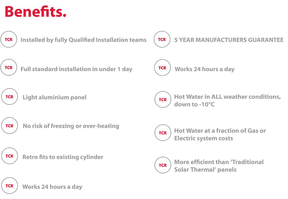 TCR Solar thermodynamic benefits IMAGE