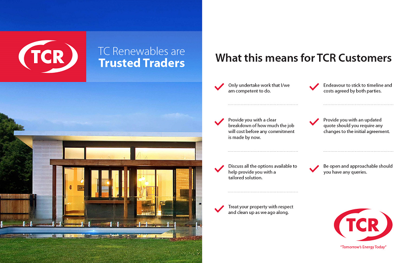 TCR Trusted trader