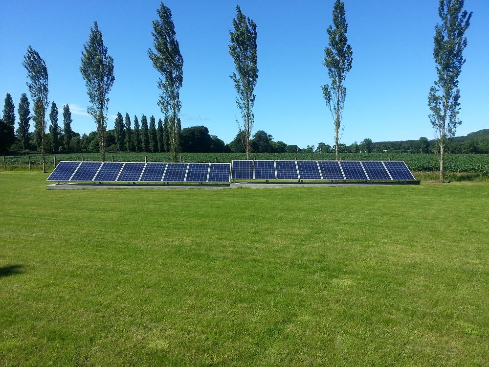 4KW Ground array