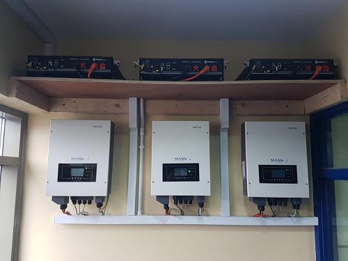 Roe valley enterprise battery system