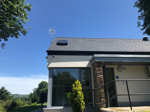 Solar thermodynamic panel