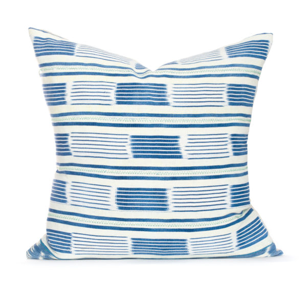 These pillows are created with a one of a kind material sourced from Morocco. They are hand made and have the perfect pop of color for your home!
