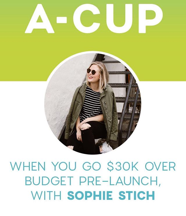 I've always wanted to do a podcast. It's weird how the universe works when you start to verbalize your goals. Check out the A-Cup Podcast sharing women entrepreneurs stories! Excited to share my journey. Link in Bio! . . . . Thank you to @forallthefwords and @taralaferrara for hosting me!