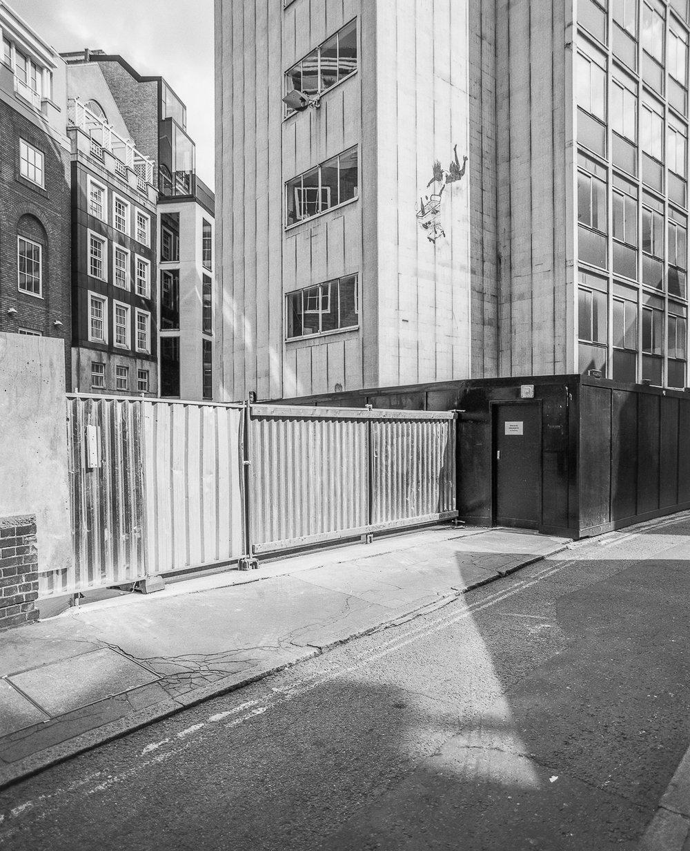 Banksy's 'Shop Until You Drop', Bruton Street, London - ARTVISIT ..