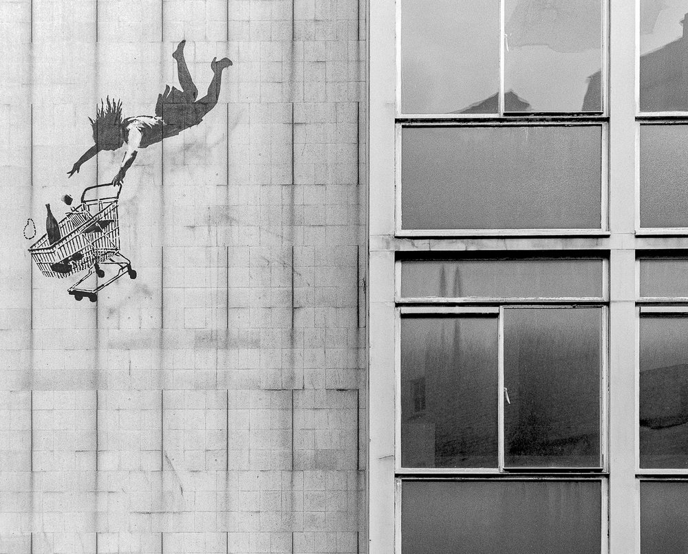 Banksy's 'Shop Until You Drop', Bruton Street, London - ARTVISIT ...