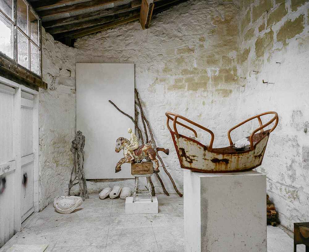 Studio Visit: Anna Gillespie - ARTVISIT..