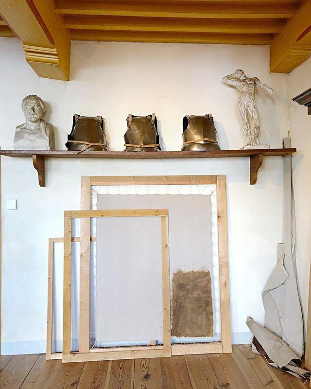 Rembrandts' Studio. . #rembrandt #rembrandthouse #artvisit #artiststudio #studiovisit #interiorstyle #oldmasters