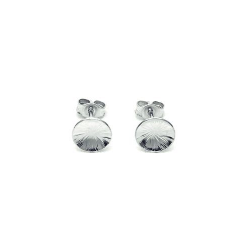 244ad92e8 Silver and Gold Stud Earrings — Contemporary Silver Jewellery ...