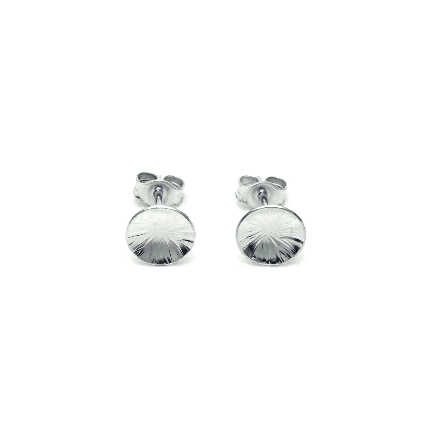 3a580dc12 Textured Dome Studs — Contemporary Silver Jewellery Handmade in ...