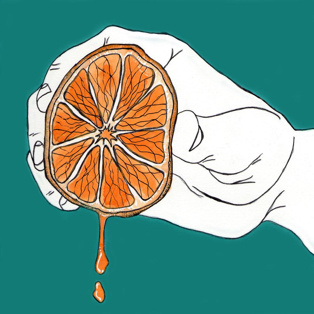 Day 23: Juicy Orange Squeeze Variation
