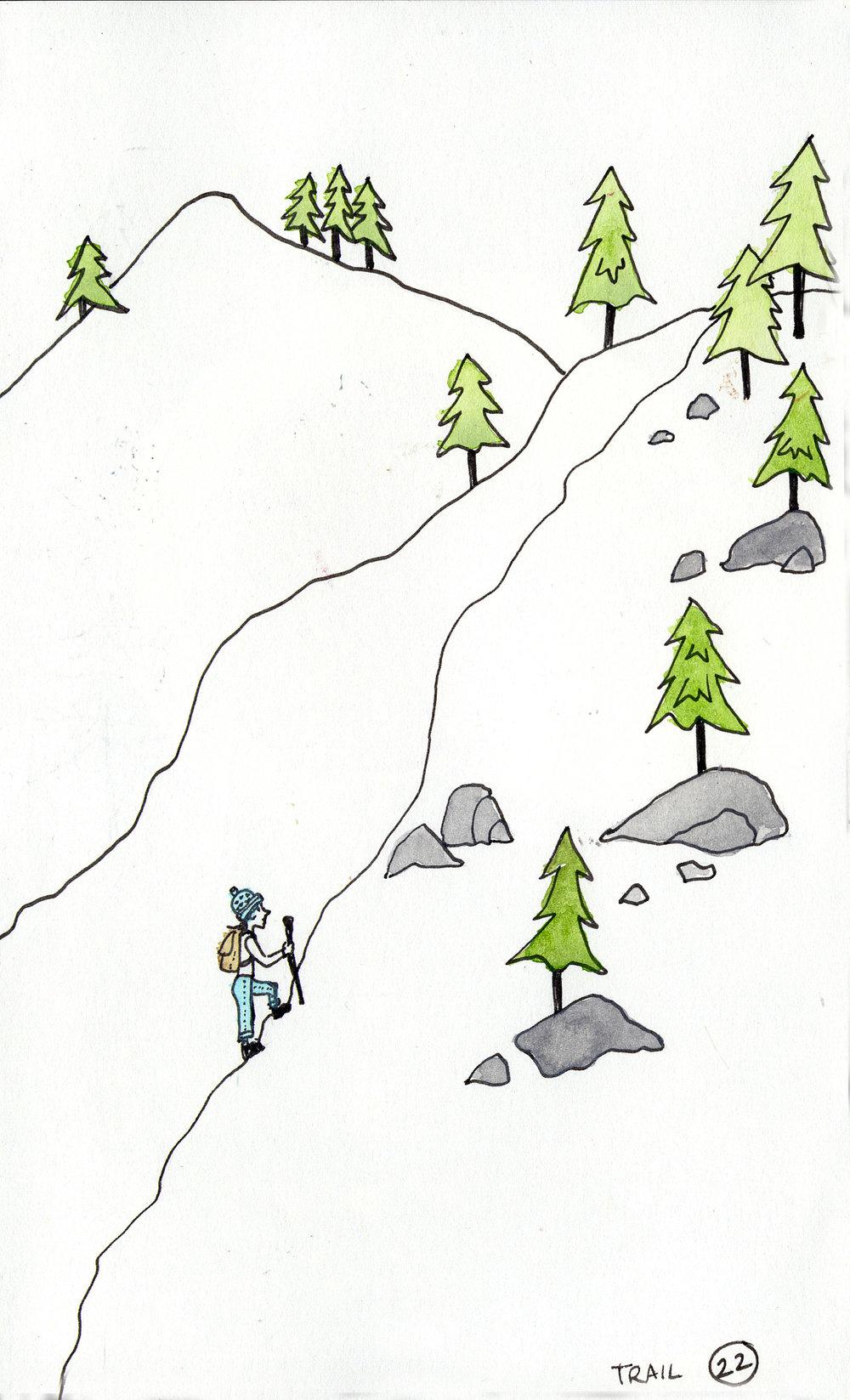 Day 22: Trail