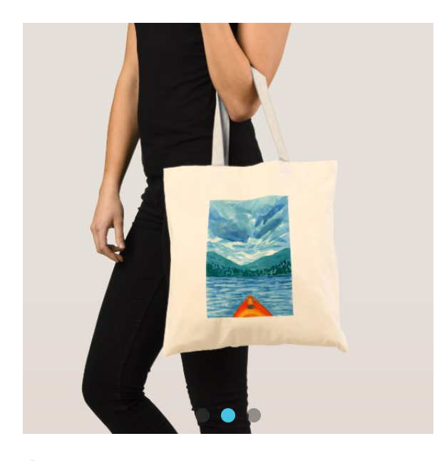 Hosmer Pond - Medium Tote Bag   $30
