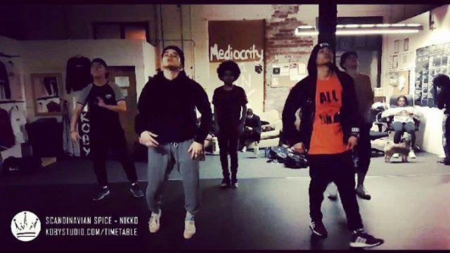 Scandinavian Spice with @nikolinesjoeberg Saturdays 615-730. Int/Adv . 🎥 1 Boys group 🎥 2 Girls group 🎥 3 Niko solo . www.kobystudio.com . #dance #kobystudio #leeds #urbandance #urbandanceleeds #leedslife #dancevideos #kingofbeingyou #alliswonwhenallisone #31817 #streetdance #rnb #hiphop #comefindusleeds #madeinleeds #leedslist #vngoproductions #vngo