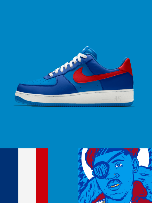 NIKE AIR FORCE 1 LOW ESSENTIAL: the Ruler $120.00