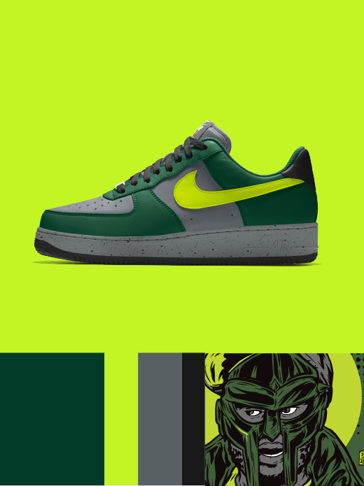 NIKE AIR FORCE 1 LOW ESSENTIAL: The Danger $120.00