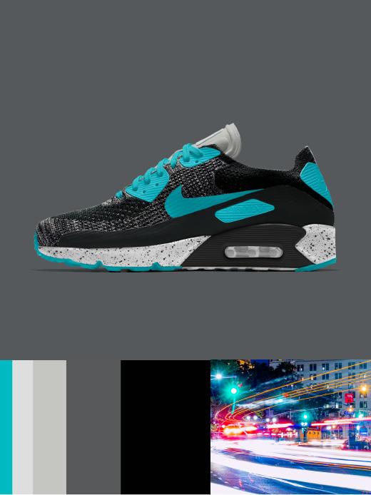 Nike Air Max 90 Ultra 2.0 Flyknit: City Lights $200.00