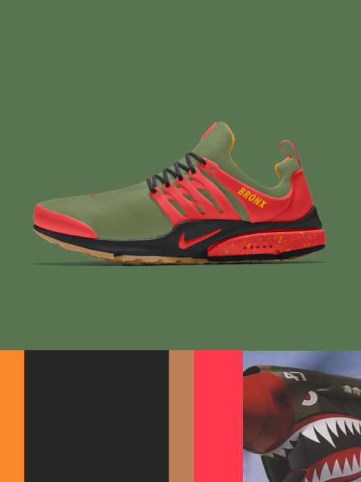 Nike Air Presto: Bronx Bomber $160.00