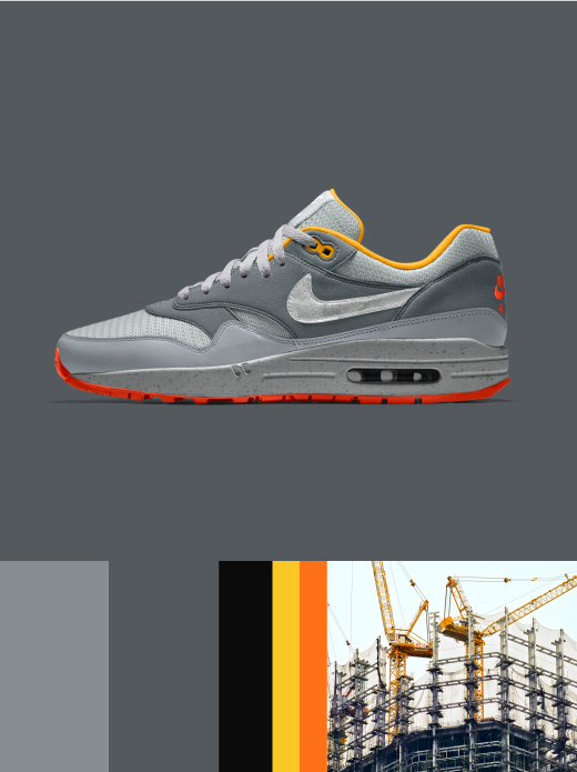 Nike Air Max 1 Essential: Under Construction $130.00