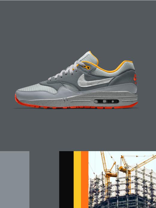 Nike Air Max 1 Essential: Under Construction $130.00