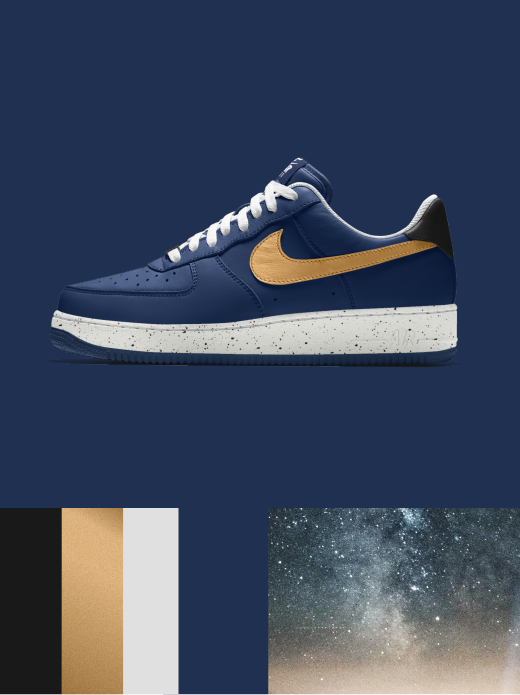 Nike Air Force 1 Low Essential: GOD SPEED $135.00