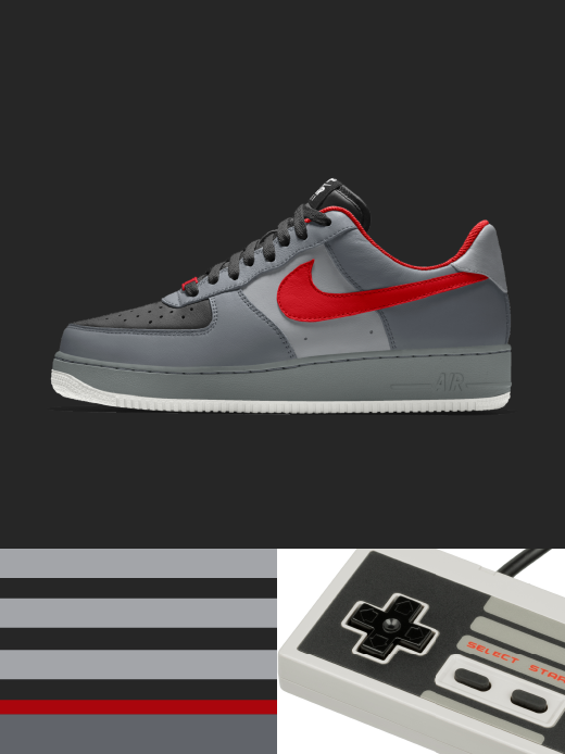 Nike Air Force 1 Low Essential: player 1 $135.00