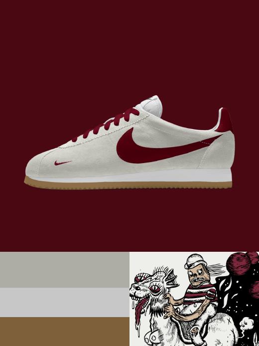Nike cortez: pEACE WIZARDS $115.00