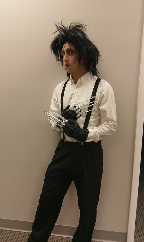 Anthony as Edward Scissorhands
