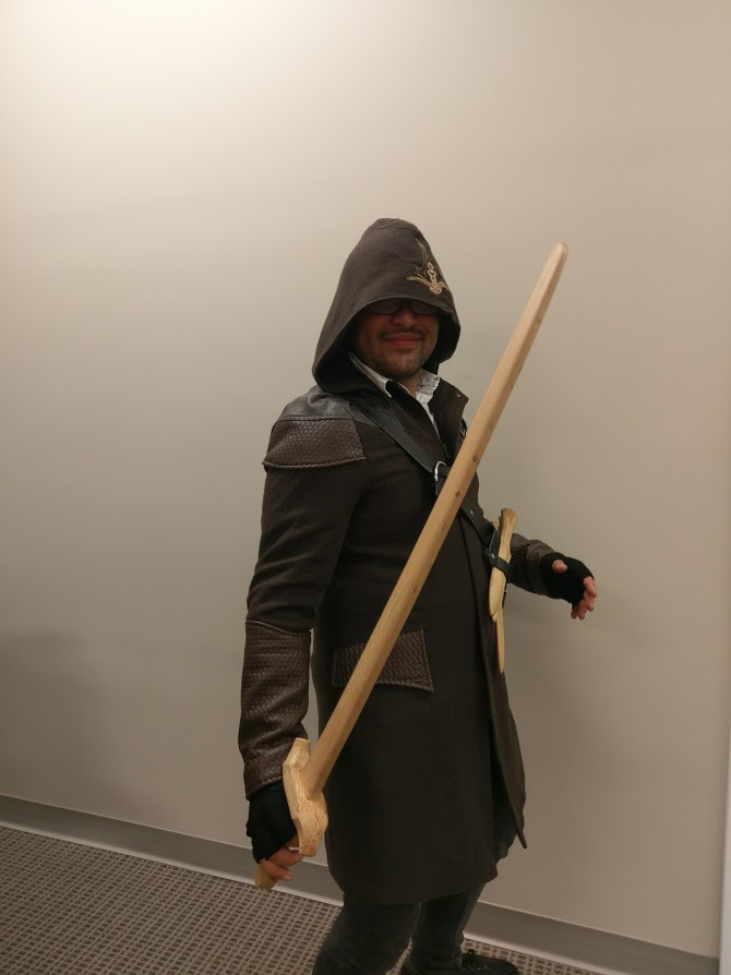 Brandon as Assasin's Creed