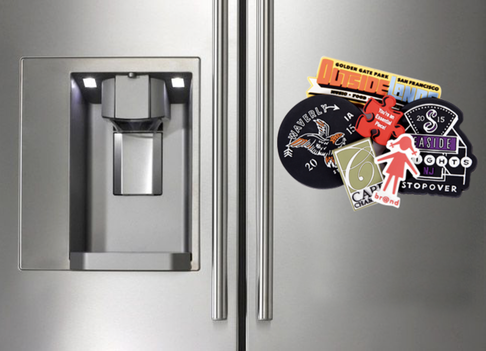 PVC Fridge Magnets