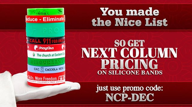 #ThousandsOfDistributorsCantBeWrong Next Column Pricing on Silicone Bands. This incredible deal ends on 12/31.