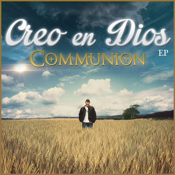 "Communion's debut album is out! - The debut album is out! ""Creo en Dios (EP)"" - 17 tracks with songs in English and Spanish! Get it now, either as an MP3 download or buy the physical album! Available exclusively at store.communionhiphop.com."