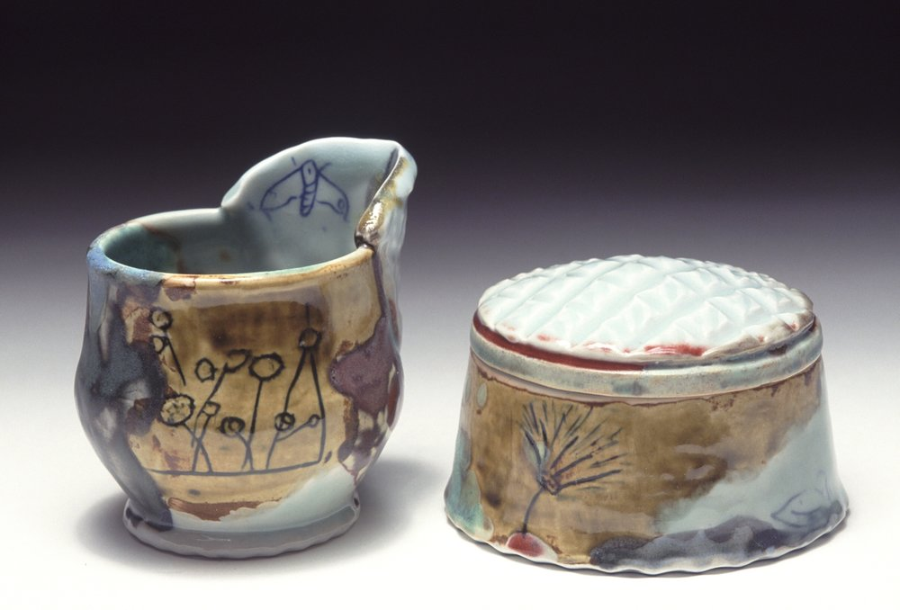 Sugar & Creamer Set, 2005