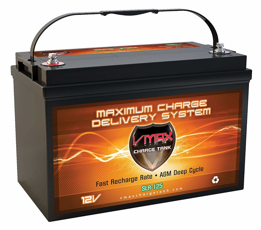 125 Amp-Hr Battery $279.99
